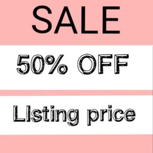 ✨FLASH SALE✨ 50% OFF LISTING PRICE LIMITED TIME